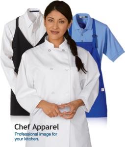 Chef in her uniform