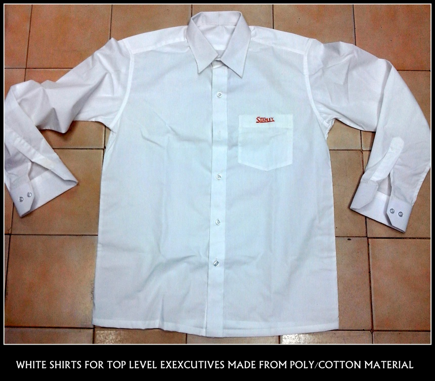 White shirt made for a corporate company !!