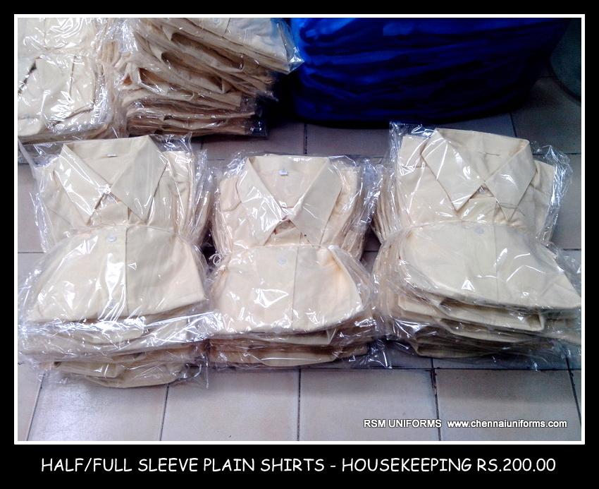 Housekeeping Shirts - Plain