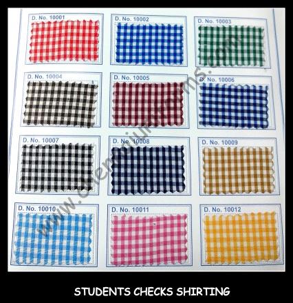 Shirting - School Uniform fabrics in Chennai