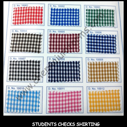 Shirting - School Uniform fabrics in Chennai