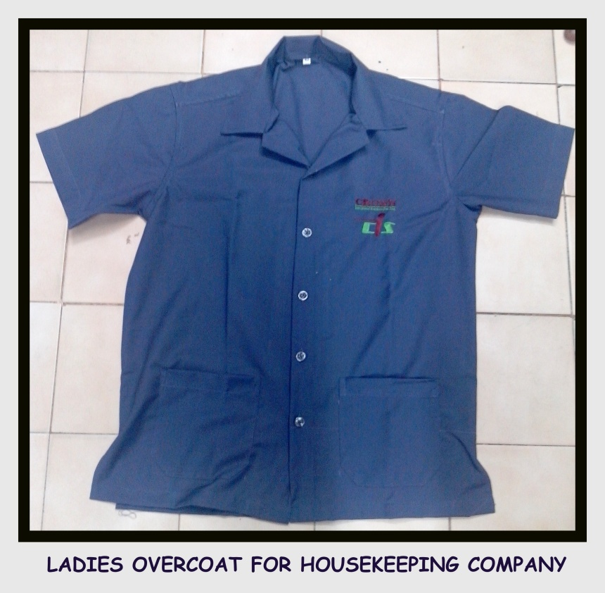 Ladies uniform overcoat