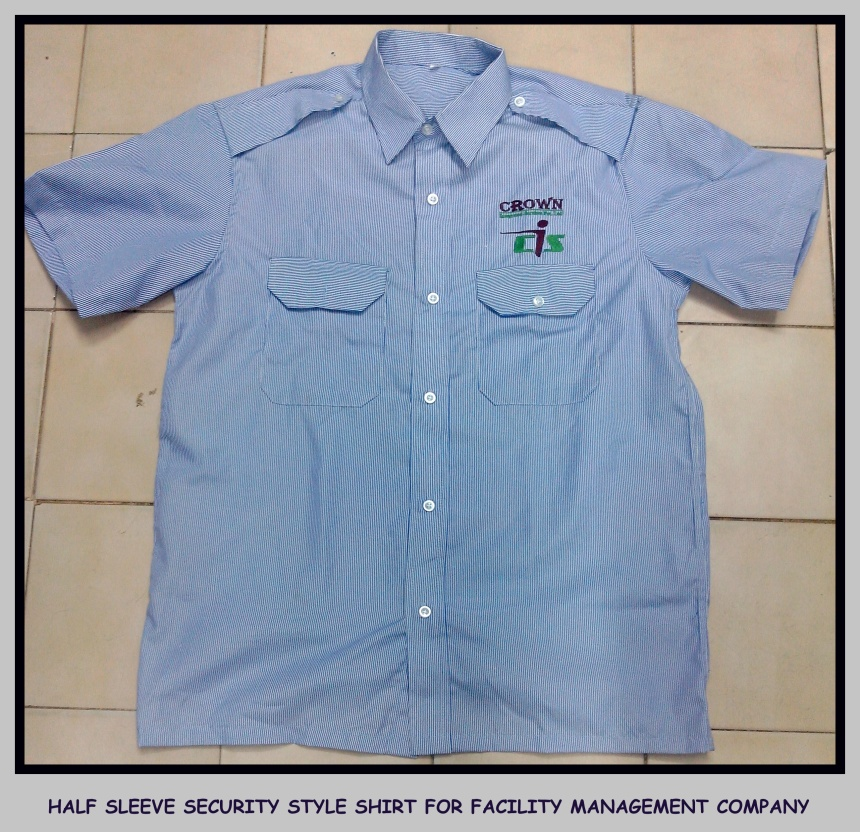 Uniform shirt half sleeves - Security Uniform