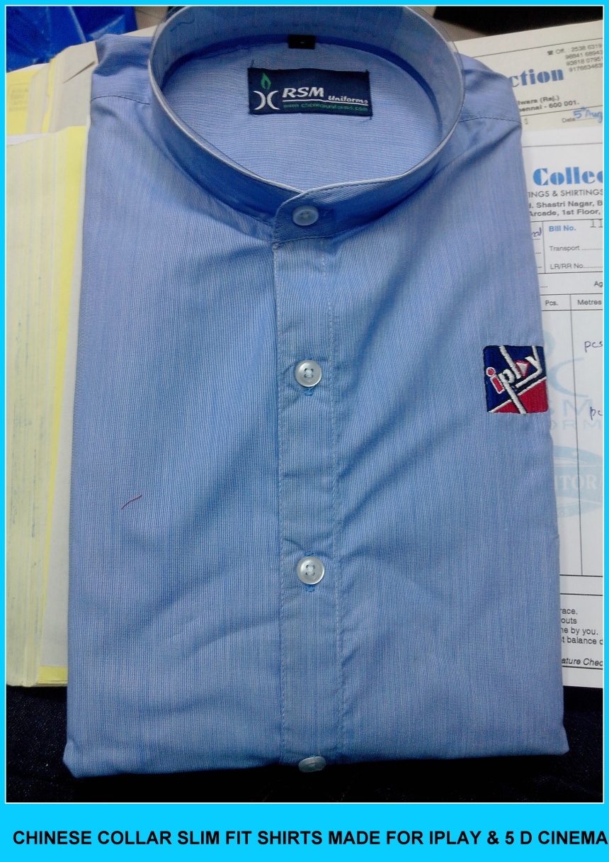 Corporate Uniforms Shirts in Chennai