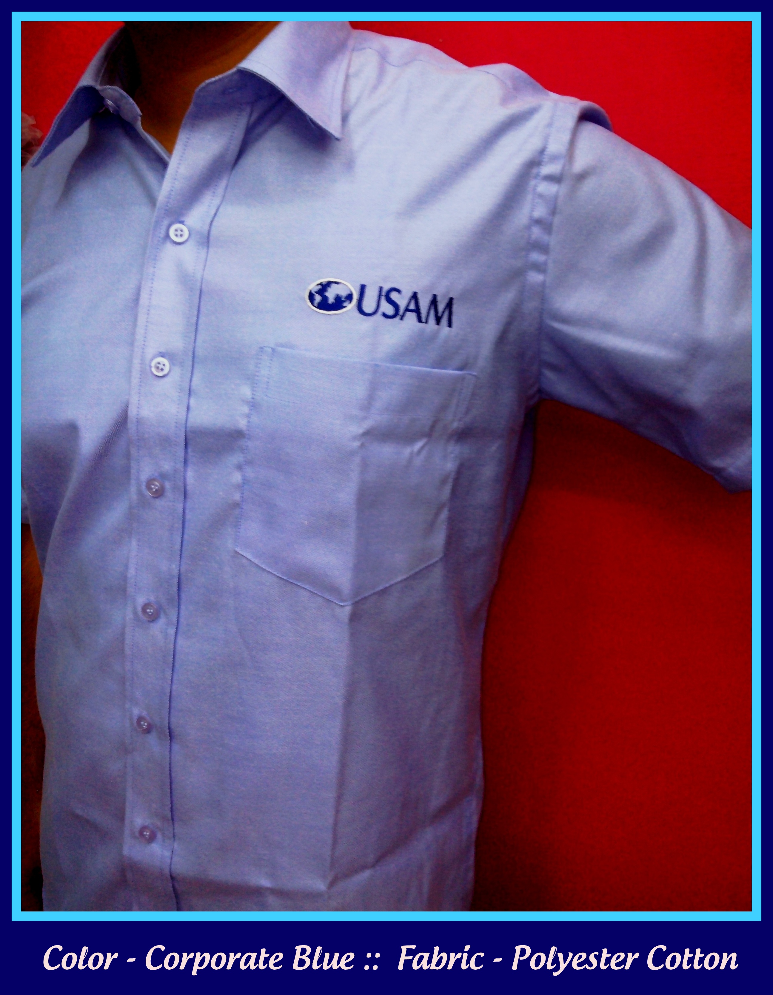 Embroidered Logo On Chest Company Uniforms In Chennai Uniforms