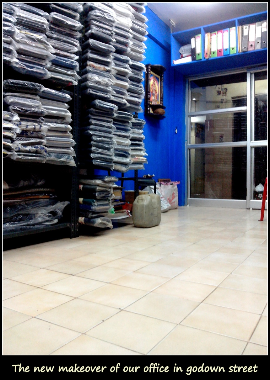 Hub of uniforms - RSM Uniforms at Godown street, Chennai