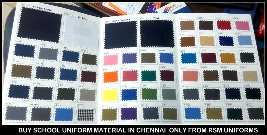 Uniforms in Chennai - Trouser cloth