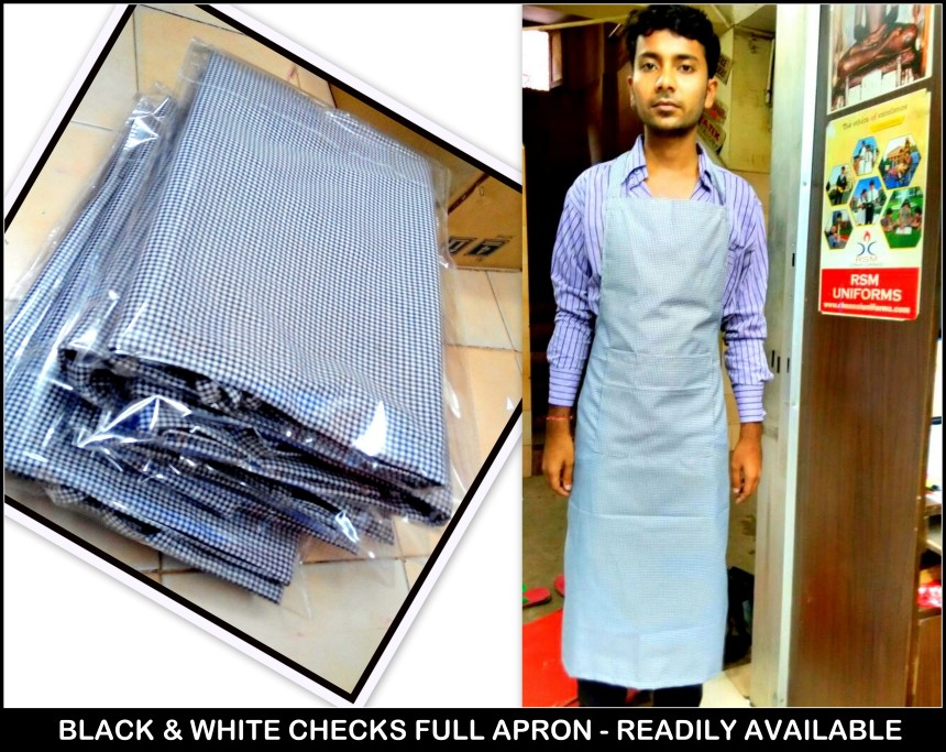 Readymade aprons in Chennai - Available readily