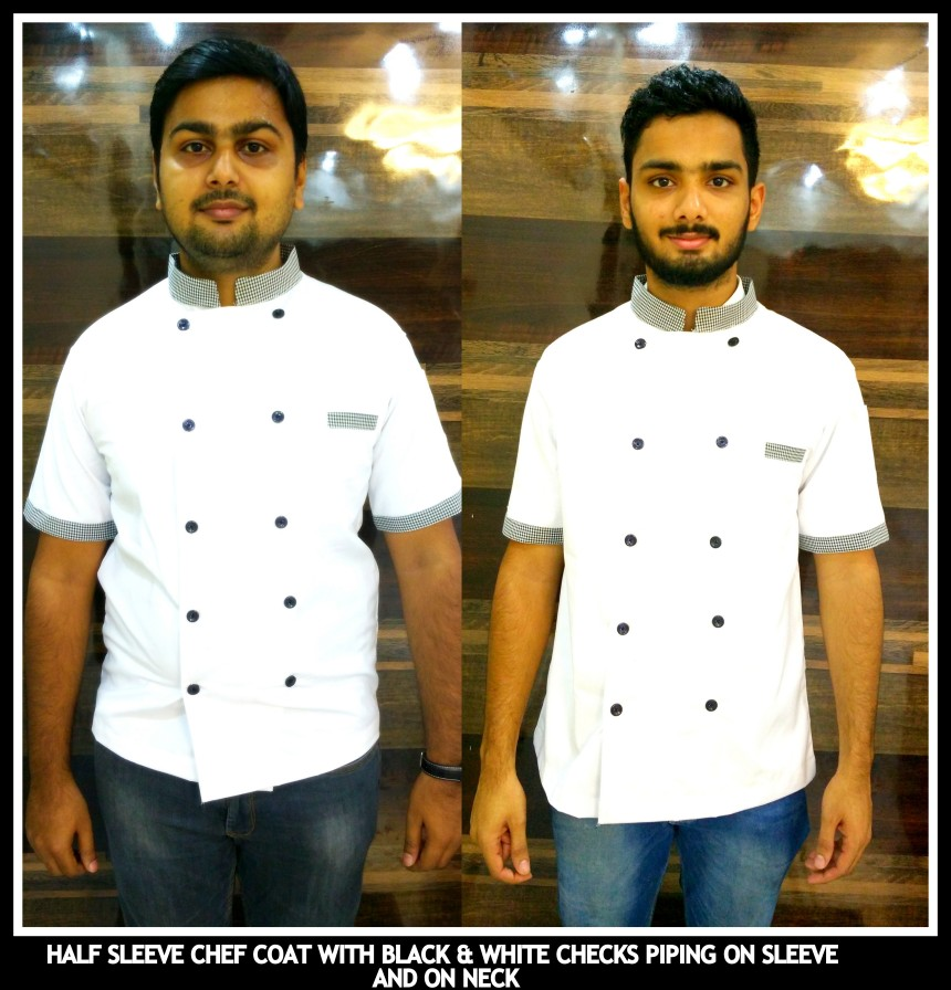 Half sleeves Chef coats in Chennai