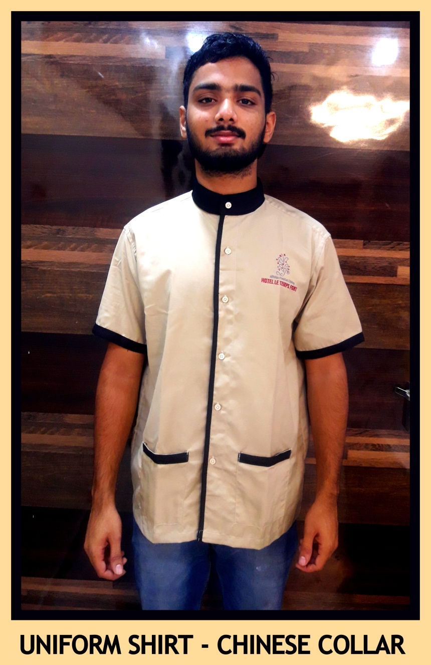 Uniform shirt - Chinese collar