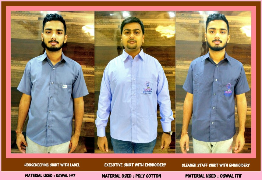 Suppliers of Uniform shirts in Chennai