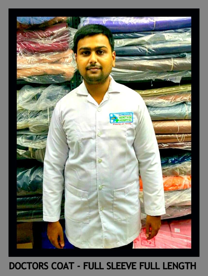 Doctors coat in Chennai