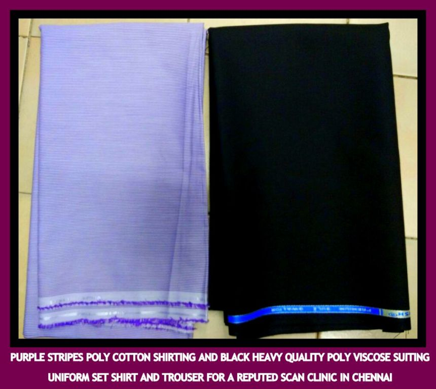 Uniform fabric for reputed scan center in Chennai