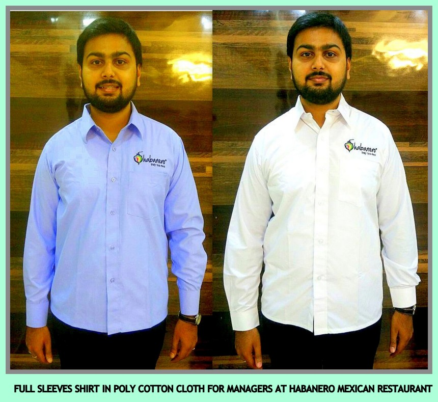Restaurant uniforms in Chennai for mangers