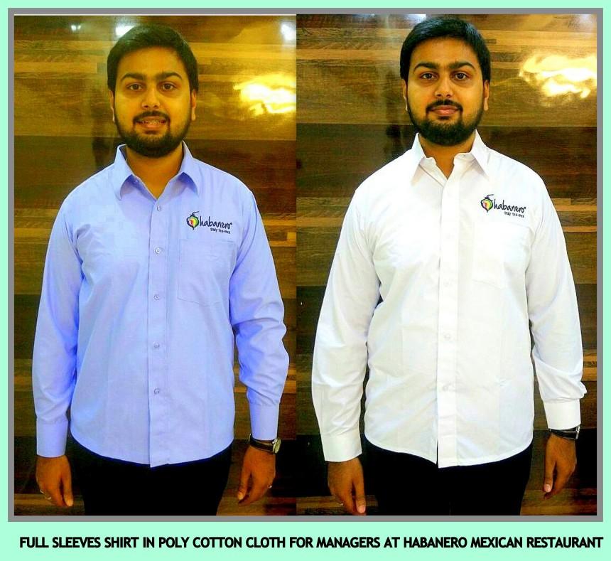 Restaurant uniforms in Chennai for mangers
