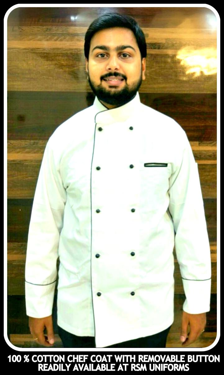 100% Cotton Chef coat manufacturers in India