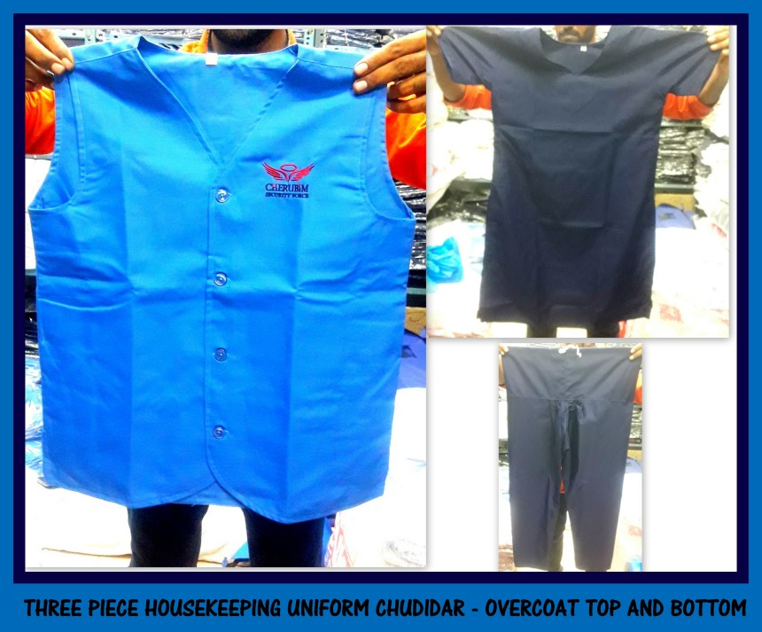 Housekeeping Uniform Chudidars
