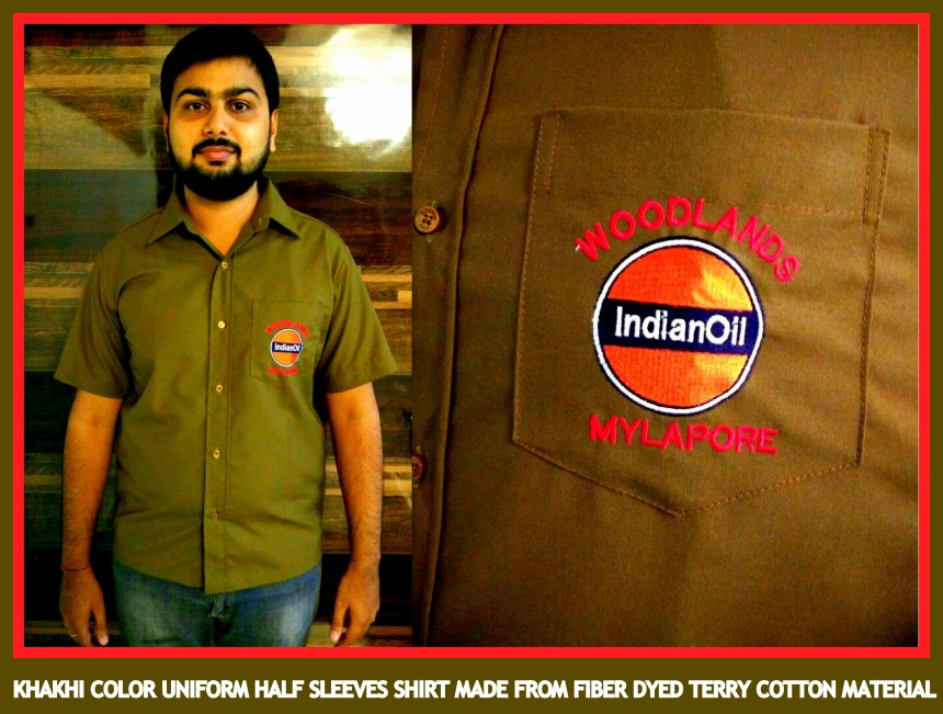 Uniforms half sleeves shirts for auto drivers in Chennai