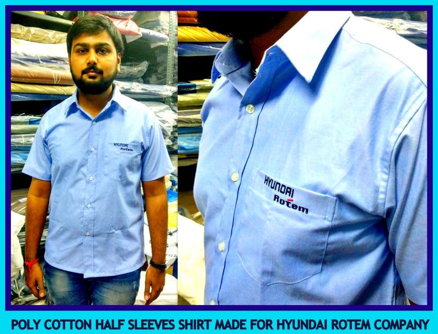 Uniform Half sleeves shirt suppliers in India