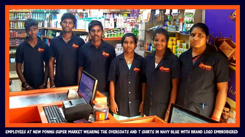 Super Market uniforms in India