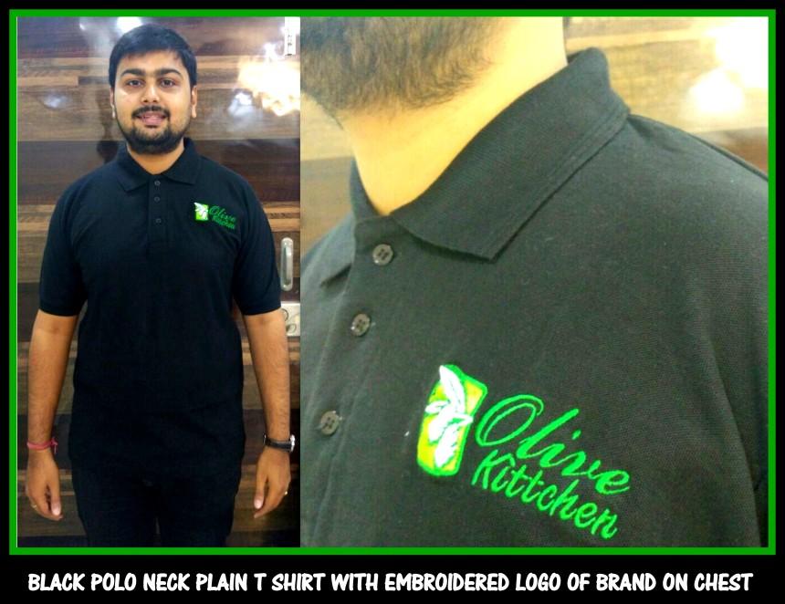 Polo Black Uniform T shirt