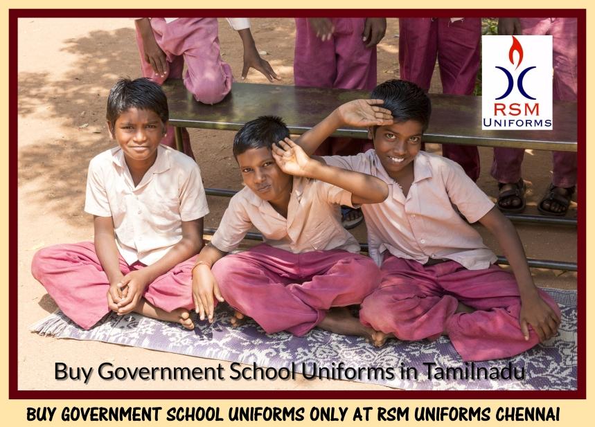 Uniforms for Government Schools in Tamilnadu