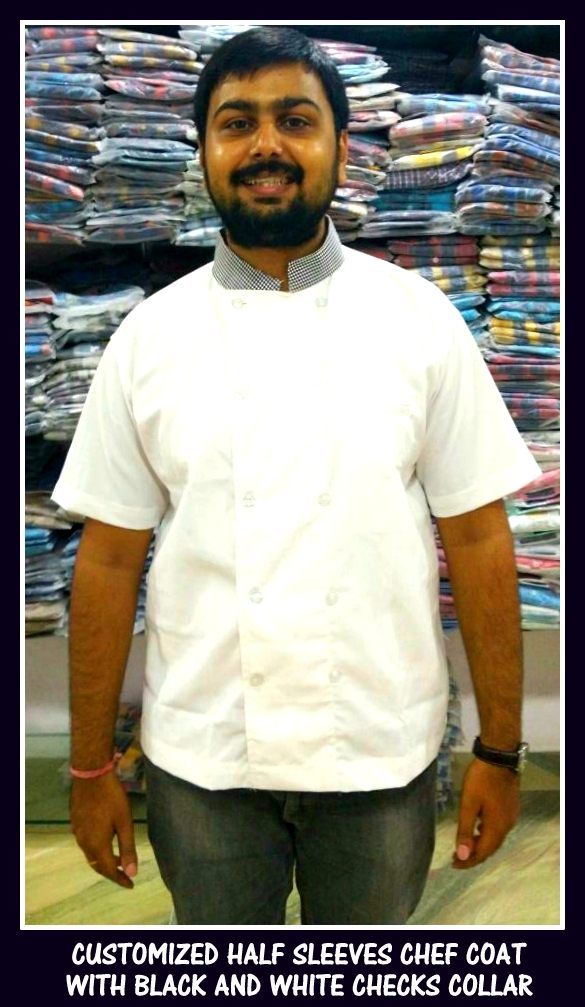 Uniform Chef coat with Collar