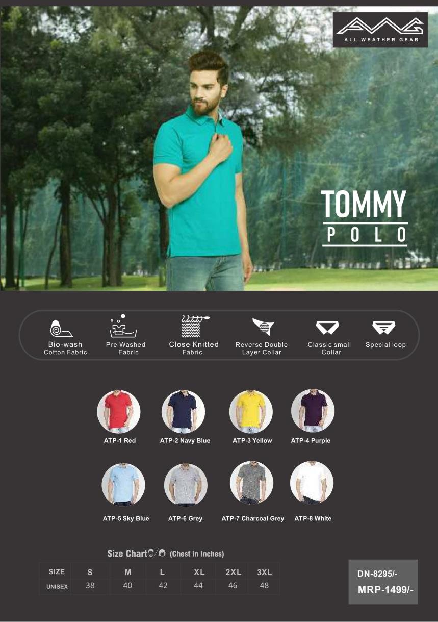 TOMMY POLO - THE UNIFORM T SHIRT