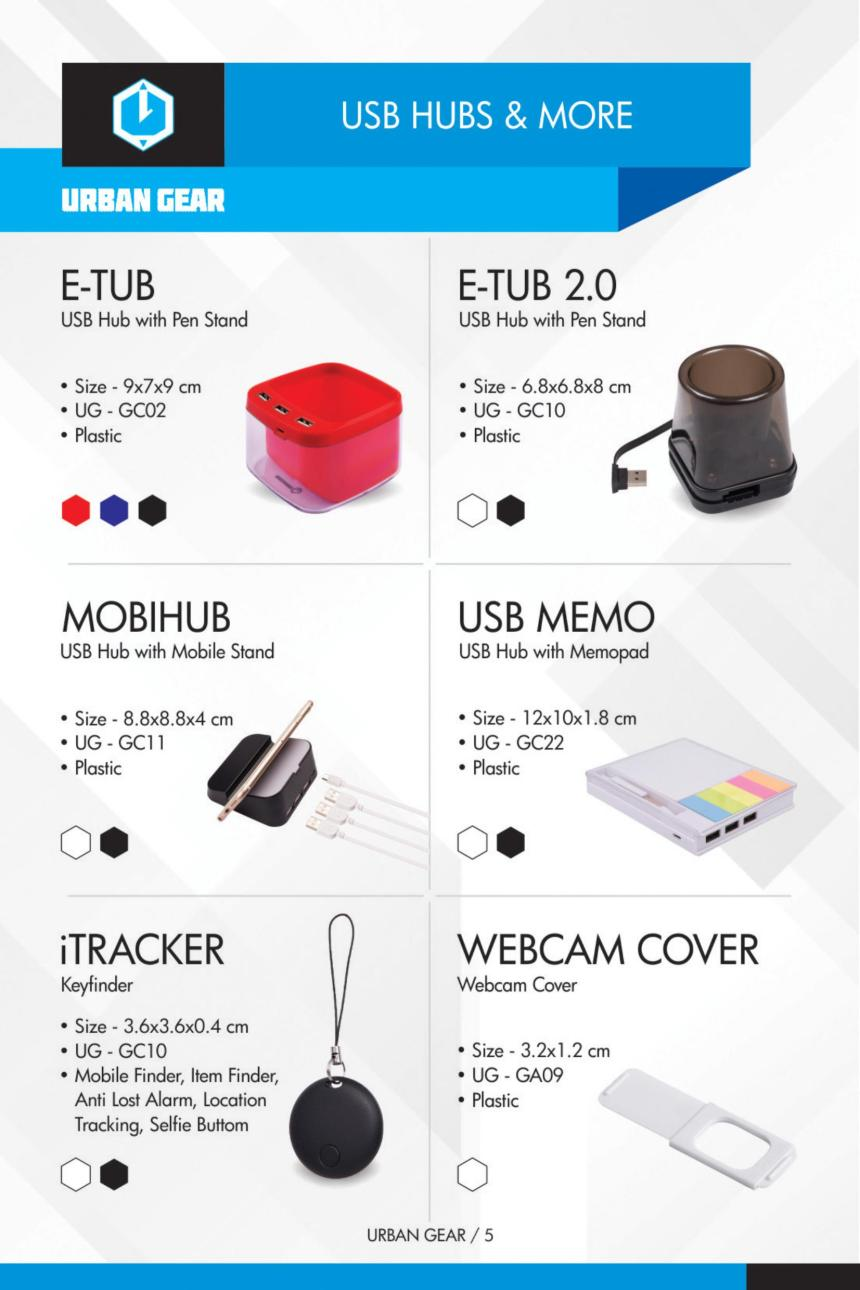 USB HUBS & MORE