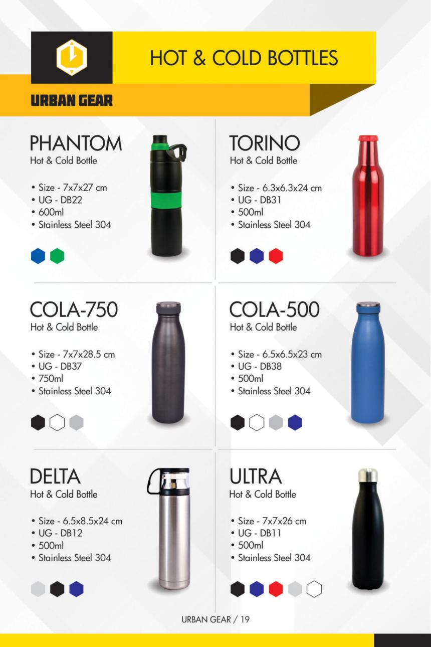 HOT & COLD BOTTLES