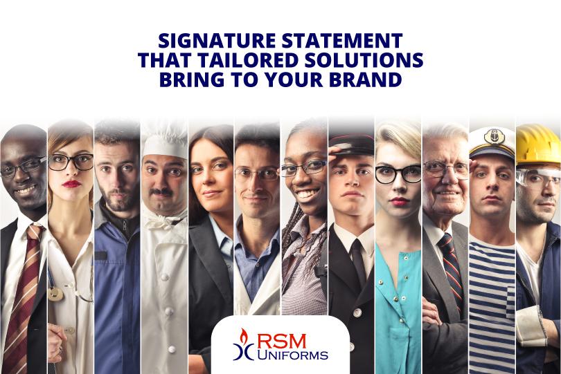 Signature statement of brand