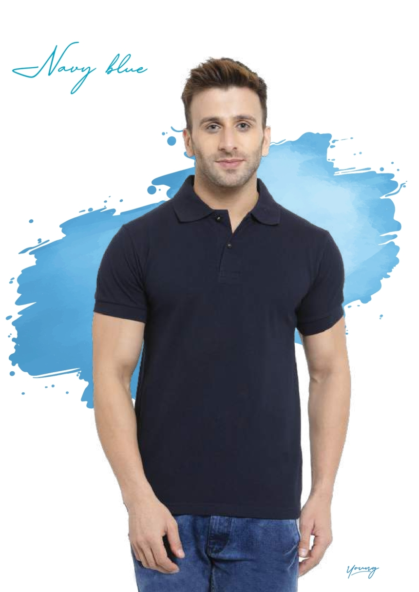 Scott young navy blue t-shirt in Chennai- Rsm Uniform Chennai